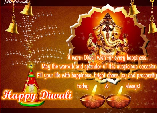 a warm diwali wish  free happy diwali wishes ecards