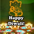 Warm Wishes On Diwali!