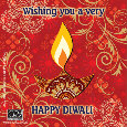 Wish You A Bright And Happy Diwali.