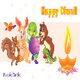 Happy Diwali Wishes By Purple Turtle.