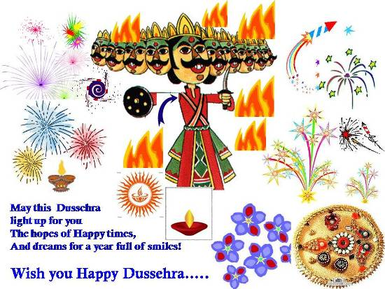 Greetings On Dussehra For Loved Ones.