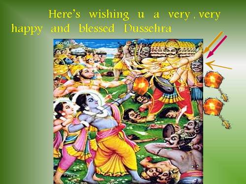 Dussehra Greetings For Loved Ones.