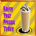 A Frappe Day Card!