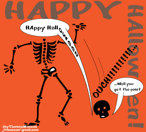 Bones Of Halloween.