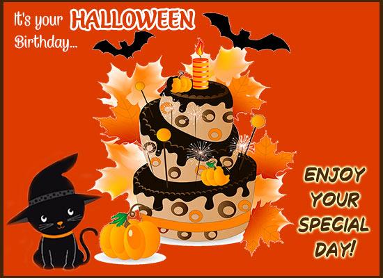 Halloween Birthday! Free Happy Birthday eCards, Greeting Cards   123  Greetings