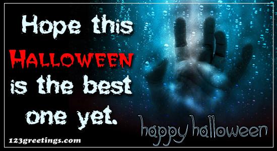 Hope This Halloween...