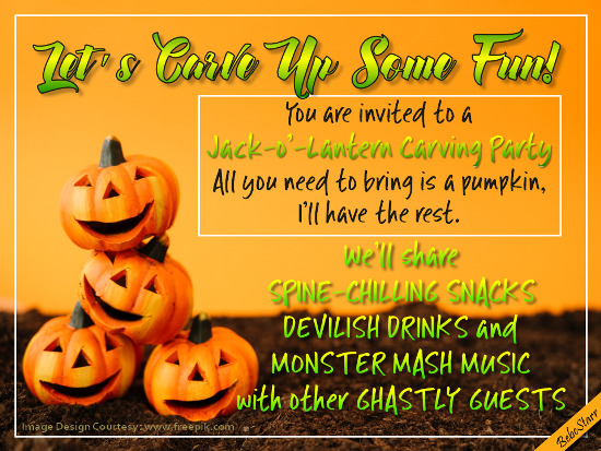 Carve Up Some Fun.