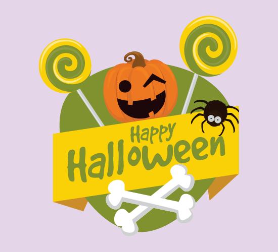 Jack-o'-lantern Halloween Spook.