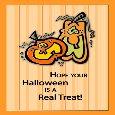 Carve Out Fun Pumpkin Halloween Treat.