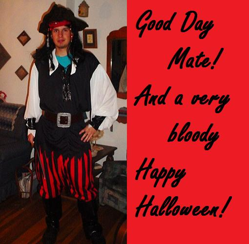 A Pirate Halloween.
