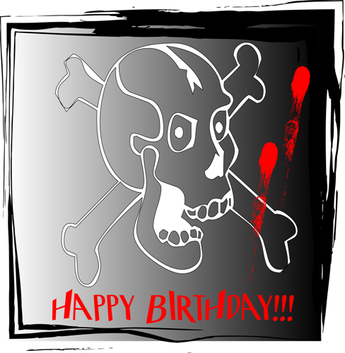 Happy Birthday My Creepy One Free Specials Ecards Greeting Cards