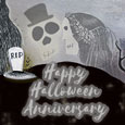 Happy Halloween Anniversary Wedding.