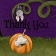 Thank You Halloween Greetings Cute.