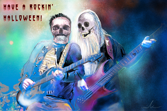 Have A Rocking Halloween.