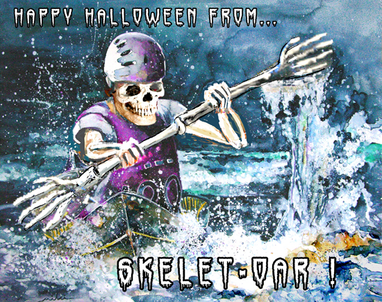 Happy Halloween From Skelet Oar.