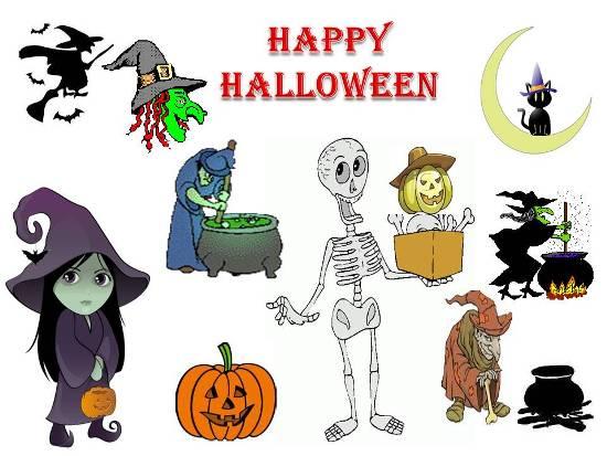 Convey Greetings On Halloween.