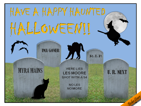 Happy Haunted Halloween.