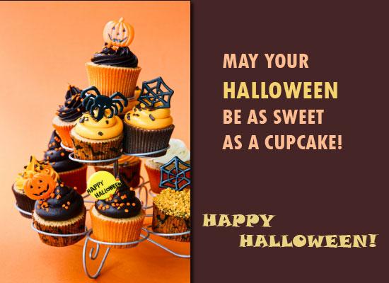 Halloween As Sweet As A Cupcake!