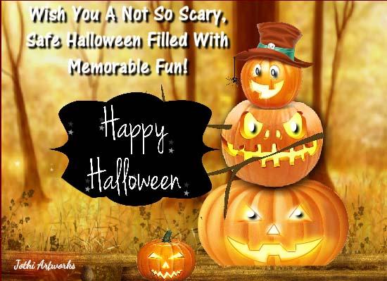 Send Halloween Greetings!
