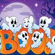 Halloween Greeting Cards - Halloween Boo!