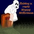Happy Halloween Ghost.