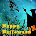 A Witchy Wish For Happy Halloween.