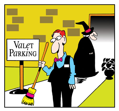 Valet Parking.