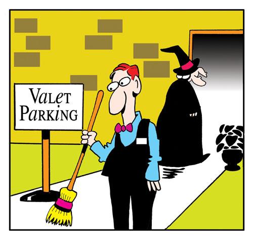 Valet Parking.