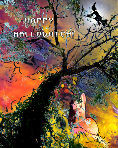 Happy Hallowitch!
