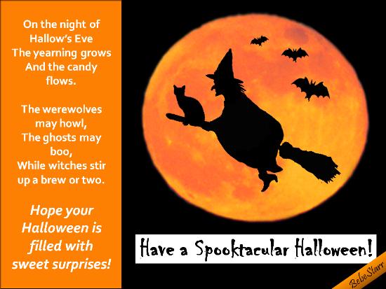 Have A Spooktacular Halloween!