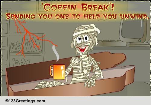 Send Funny Halloween Ecard