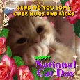 Home : Events : National Cat Day 2020 [Oct 29] - Cute Hugs And Licks For You!