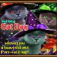 Home : Events : National Cat Day 2019 [Oct 29] - My Beautiful National Cat Day Ecard.