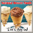Home : Events : National Dessert Month 2020 [October] - Let's Dig In...