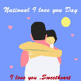 National I Love You Day, Hug...