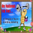 National Nut Day Card...