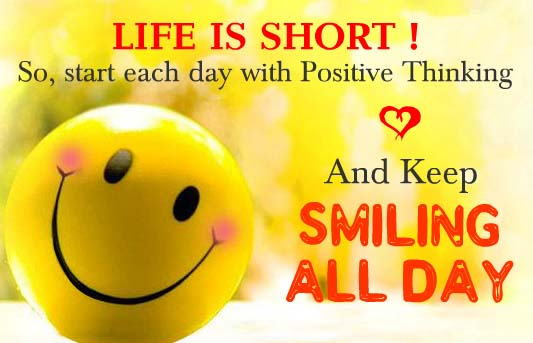 Life Is Short Keep Smiling Always Free Smile Day eCards 123