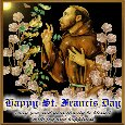 St. Francis Day Wishes!