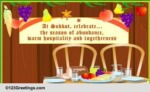 Celebrate sukkot free sukkot ecards greeting cards 123 greetings free sukkot ecards greeting cards 123 greetings m4hsunfo