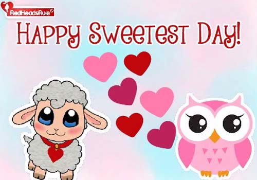 5 cards to look out for this sweetest day in the midst of tons of sweetest day cards for better halves we received this refreshing and adorable e card to wish family and friends a happy sweetest m4hsunfo