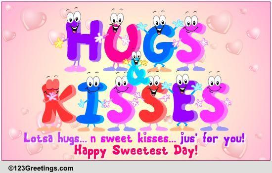 Free Hugs Kisses Ecards