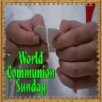My World Communion Sunday Ecard.
