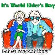 Home : Events : World Elder's Day 2019 [Oct 1] - Respect Our Elders.