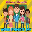 Home : Events : World Students' Day 2019 [Oct 15] - Welcome Students.