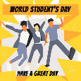 World Student's Day, Jump...