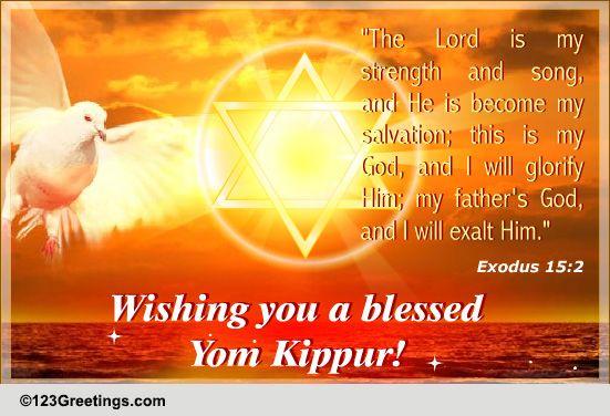 Blessed yom kippur free yom kippur ecards greeting cards 123 blessed yom kippur free yom kippur ecards greeting cards 123 greetings m4hsunfo