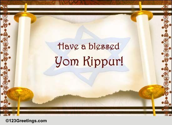 Yom kippur cards free yom kippur wishes greeting cards 123 greetings m4hsunfo