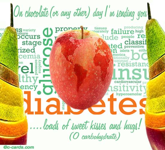 Diabetics On Chocolate Day.