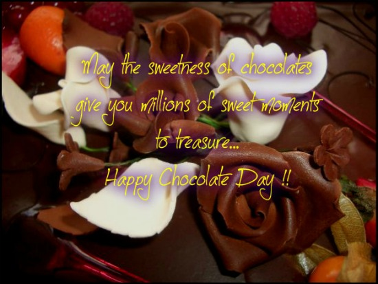 Wish You A Chocolaty Day...