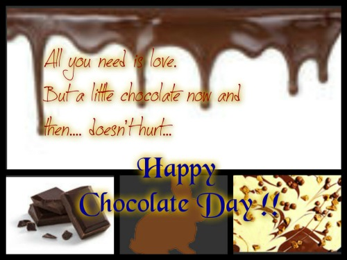 Love And Chocolate Are A Must!!